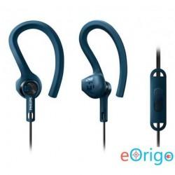 Philips SHQ1405BL/00 ActionFit Sportfülhallgató mikrofonnal kék
