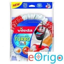 Vileda F19518 Easy Wring TURBO 2in1 felmosó utántöltő fej