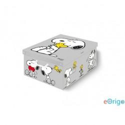 Lavatelli 660 Collection 'Snoopy' színes tárolódoboz (50x39x24cm)