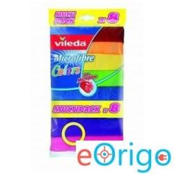 Vileda F18597 Color 8 színű mikroszálas törlőkendő