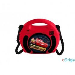Lexibook RCDK100DC Disney Verdák mikrofonos CD lejátszó piros-fekete