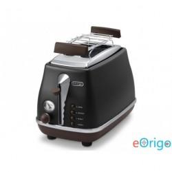 DeLonghi Icona Vintage CTOV2103.BK kenyérpirító fekete
