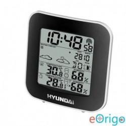 Hyundai WS 8236 időjárás állomás fekete-ezüst