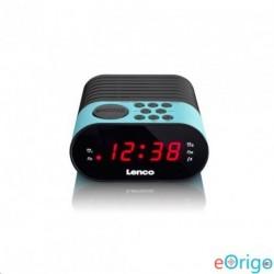 Lenco CR-07 B FM szintézeres ébresztősrádió kék