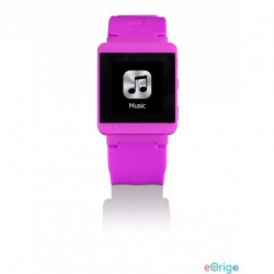 Lenco MP3 Sportwatch-100 Bluetooth sportóra rózsaszín