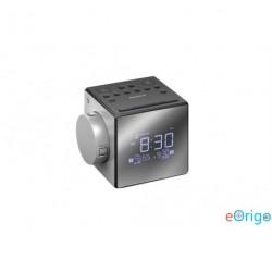Sony ICF-C1PJ Rádiós ébresztőóra időkivetítéssel ezüst