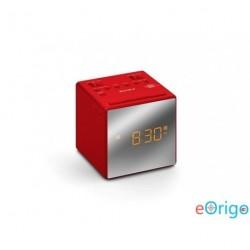 Sony ICFC1TR Rádiós ébresztőóra piros