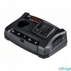 Bosch GAX 18V-30 dupla akku töltőállomás 10,8V-18V USB porttal
