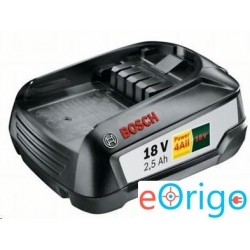 Bosch PBA 18 V 2.5 Ah W-B akkumulátor