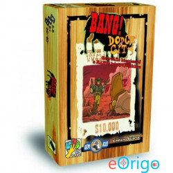 Asmodee Bang! Dodge City kártyajáték kiegészítő magyar nyelvű