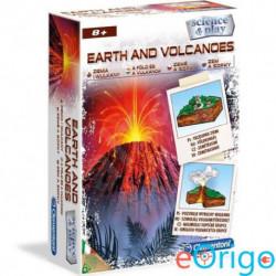 Clementoni: A Föld és a vulkánok tudományos játékszett