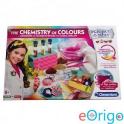 Clementoni: A színek kémiája tudományos játékszett