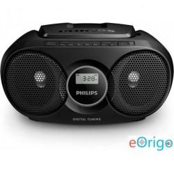 Philips AZ215B/12 hordozható CD lejátszó fekete