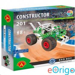 Alexander Toys Bad Boy monster truck fém építőjáték 201db-os