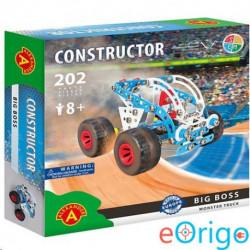 Alexander Toys Big Boss monster truck fém építőjáték 202db-os