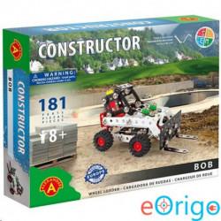 Alexander Toys Bob targonca úthenger fém építőjáték 181db-os