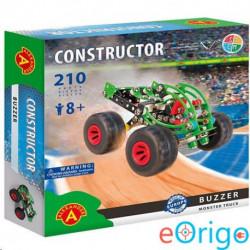 Alexander Toys Buzzer monster truck fém építőjáték 210db-os