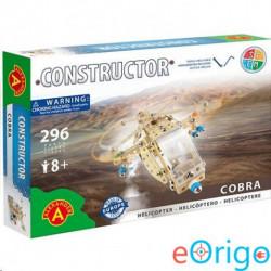 Alexander Toys Cobra helikopter fém építőjáték 296db-os