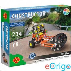 Alexander Toys Dyna úthenger fém építőjáték 234db-os