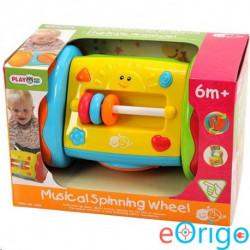 Playgo Zenélő kerekes bébijáték