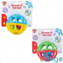 Playgo Csörgős bébi labda két féle színben