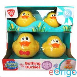 Playgo Vidám kacsacsalád fürdőjáték