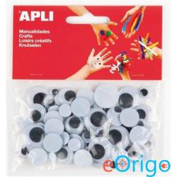 APLI ˝Creative˝ Mozgó szem fekete-fehér (13058)