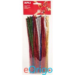 APLI ˝Creative˝ csilllogó zsenília vegyes színek (13066)