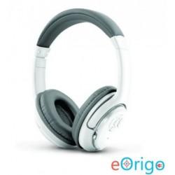 Esperanza LIBERO mikrofonos vezeték nélküli fejhallgató fehér