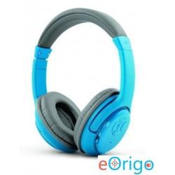 Esperanza LIBERO mikrofonos vezeték nélküli fejhallgató kék-szürke