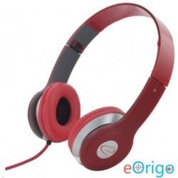 Esperanza TECHNO sztereó fejhallgató piros