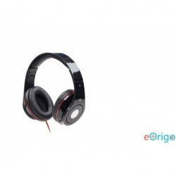Gembird mikrofonos fejhallgató fekete