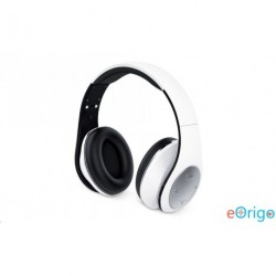 Genius HS-935BT Bluetooth mikrofonos fejhallgató fehér