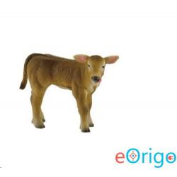 Bullyland Alpesi tehén borjú játékfigura