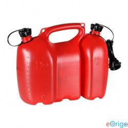 Oregon Fiordland piros üzemanyagkanna 2 részes 6+3L (562405)
