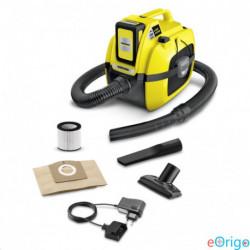 Karcher WD 1 Compact Battery + akku nedves-száraz porszívó (11983010)