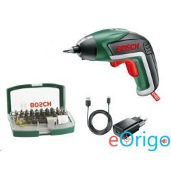 Bosch IXO V akkus fúró-csavarozó + Bit szett (06039A800S)