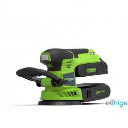 Greenworks G24ROS excentercsiszoló 24v,akkumulátoros, akku és töltő nélkül