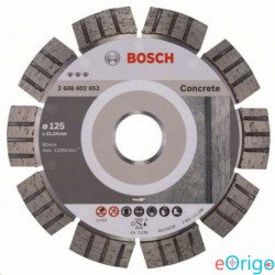 Bosch 2608602652 Best for Concrete gyémánt darabolótárcsa, 125-22,23 mm