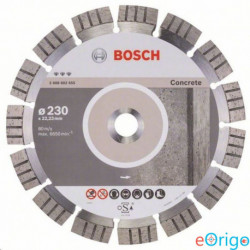 Bosch 2608602655 Best for Concrete gyémánt darabolótárcsa, 230-22,23 mm