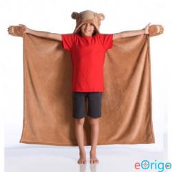 Kanguru Bear macis viselhető pléd gyerekeknek (1197)