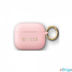 Guess AirPods Pro szilikon tok rózsaszín (GUACAPSILGLLP)