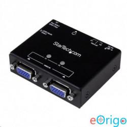 Startech.com 2-portos VGA Auto Switch Box prioritásos kapcsolással és EDID-másolással (ST122VGA)