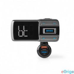 Nedis CATR101BK autós Bluetooth FM-adókészülék