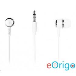 Canyon CNE-CEPM01W mikrofonos fülhallgató fehér