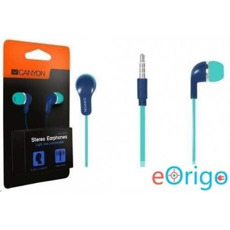 Canyon CNS-CEPM02GBL fülhallgató kék-zöld - eOrigo 0a3565b8c4