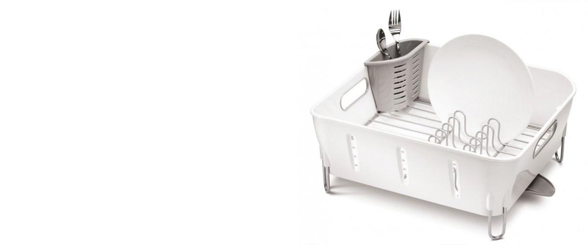 Simplehuman KT1104 kompakt konyhai edényszárító